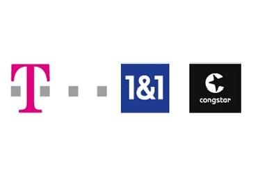 Telekom, 1&1, Congstar