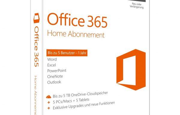 Microsoft Office 365 Home | 1-jährige Lizenz